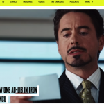 「I am Iron Man.」は、ロバート・ダウニー・Jrのアドリブだった件
