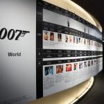 007 ソニービルにて確認した歴代ボンドガール