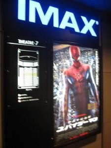 IMAX スパイダーマン